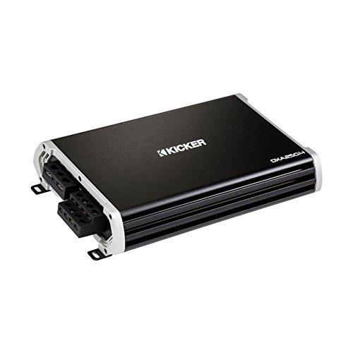 (Kicker DXA 250.4 250 Watt Full Range 4 Channel Car Audio Amplifier | 43DXA2504 )