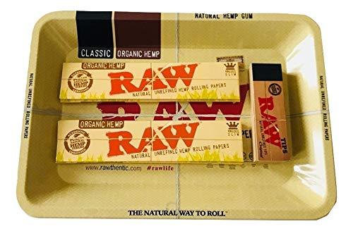 le Tray King Size Organic Papers Tips 420 Kit ()