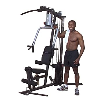 Body solid g s g series selectorized home gym with chest supported