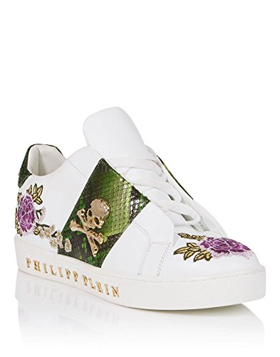 Philipp Plein Women's Trainers White Bianco EeCVXMK9