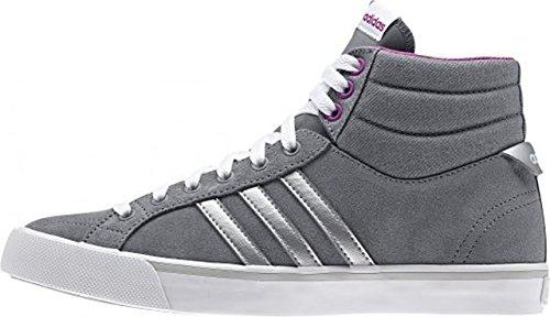 Adidas Neo parco ST Mid W Grigio Viola Camoscio Sneakers Donna Moda Scarpe