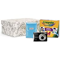 Olympus FE-46 12MP Digital Camera Black Crayola Kit with 5x Optical Zoom and 2.7 inch LCD, 64 pack of Crayons and Storage Box Noticeable Review Image