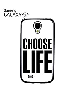 Choose Life Geek Mobile Cell Phone Case Samsung Galaxy S4 White