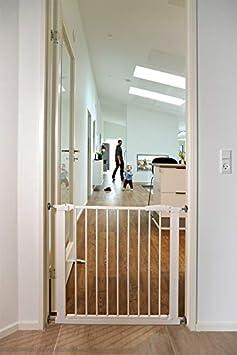 Puerta de seguridad BabyDan Perfect Close extra ancha blanco blanco Talla:83-89.5cm