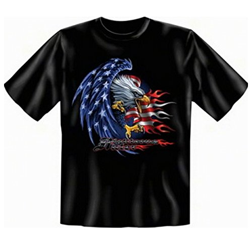 Stars and Stripes Adler T-shirt Eagle Fb schwarz