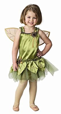 Child Garden Fairy Costume with Wings