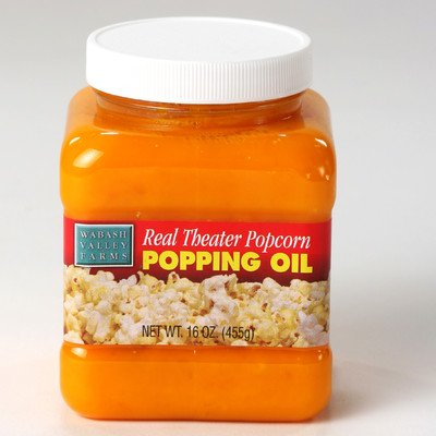 Wabash Valley Farms Popping Oil - Real Theater - 15.25 oz. (Gourmet Popcorn Canada)