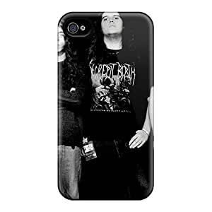 Marycase88 Iphone 4/4s Durable Hard Cell-phone Case Allow Personal Design Beautiful Before The Dawn Band Skin [IsU11486ucmT]