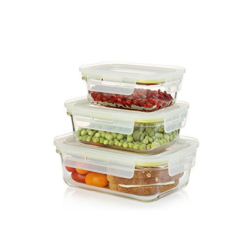 Set Glass Food Storage Containers