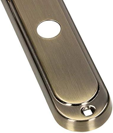 para puerta interior y exterior Picaporte para puerta con placa larga KOTARBAU