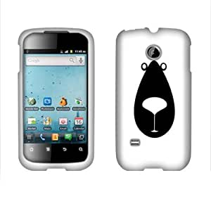 Fincibo (TM) Huawei Summit U8651S Prism U8651 M865 Protector Cover Case Snap On Hard Plastic - Bear, Front And Back