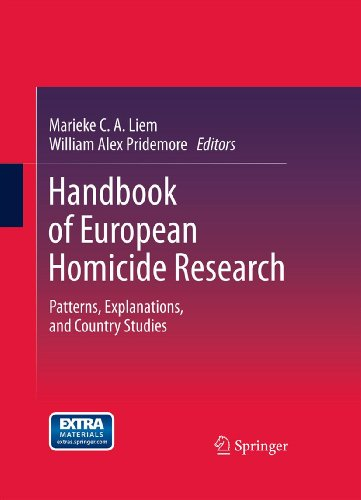 Download Handbook of European Homicide Research: Patterns, Explanations, and Country Studies Pdf