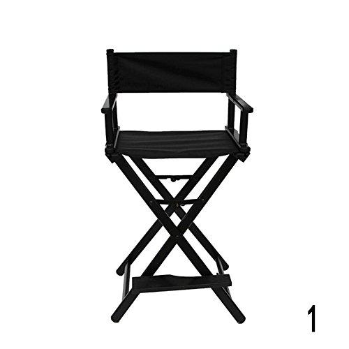 Gracefulvar Rolling Studio Makeup Artist Cosmetic Case Chair (Black) by Gracefulvar