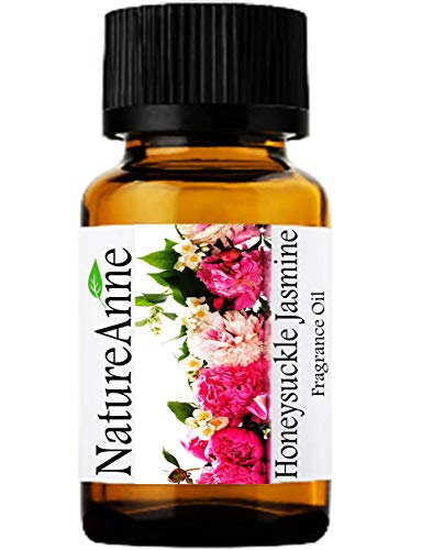 (Honeysuckle Jasmine Premium Grade Fragrance Oil - 10ml - Scented Oil - for Diffuser Oils, Making Soap, Candles, Lotion, Home Scents, Linen Spray, Lotion, Perfume, Beard Oil,)