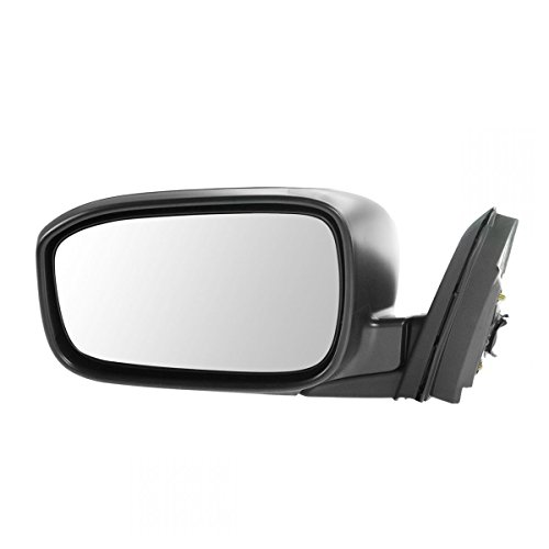 Mirror Power Black Driver Side Left LH for 03-07 Honda Accord Coupe ()