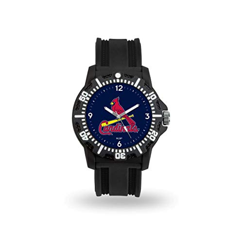 - Rico Industries MLB St. Louis Cardinals Model 3Men's Watch, Black, One Size
