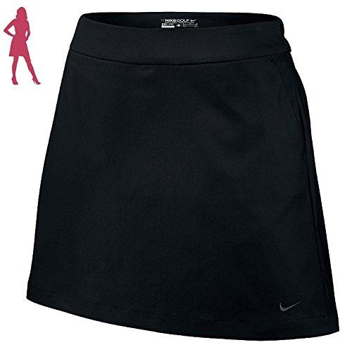 Nike Golf Women's Tournament Skort (Black) 10