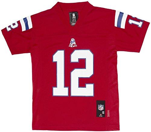 Outerstuff Tom Brady New England Patriots Youth Navy Jersey