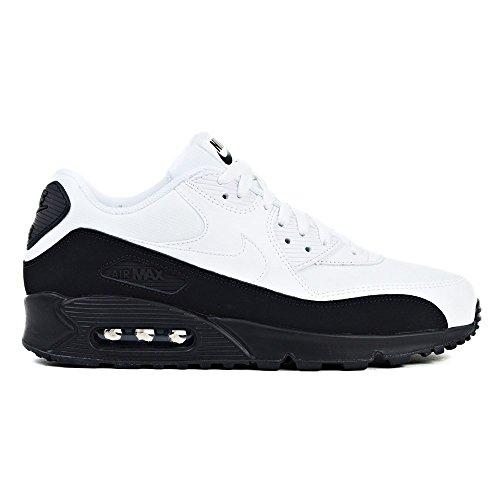 Nike Air MAX 90 Essential, Zapatillas de Gimnasia para Hombre Negro (Black/White 001)