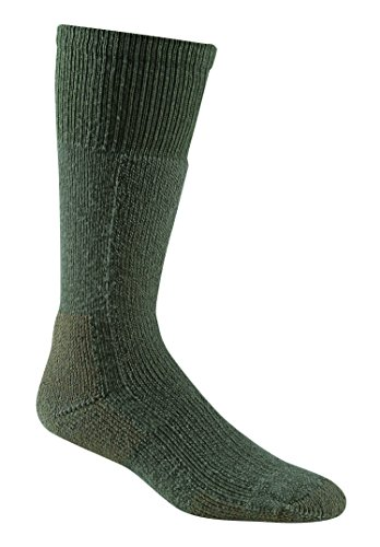 Price comparison product image Fox River Adult Military Thermal Merino Wool Cold Weather Mid-Calf Boot Socks, Foliage Green, Large