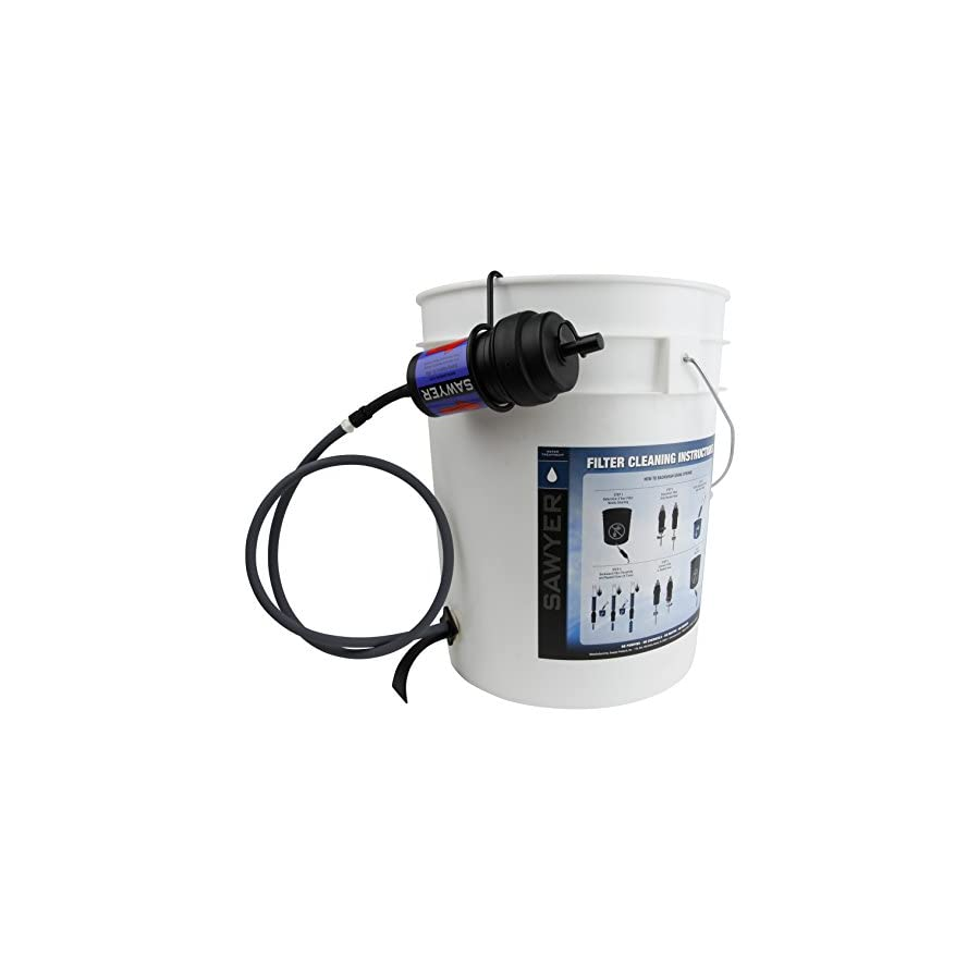 Sawyer Products SP191 Point Zero Two Bucket Purifier Assembly Kit with Faucet Adapter
