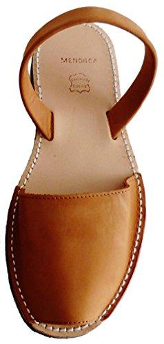 Keil cm Cuero Sandalen menorcan Avarcas Sandalen Nobuck BEIGE 5 Plataforma verschiedene Ferse 2 Farben Clogs MENORQUINAS Beige mit px8Xw1qq