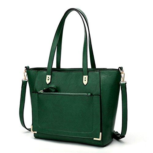 Cru Main épaule Bandoulière Multi Sac à Sac Léger green à Pocket Casual w6XFxXaS