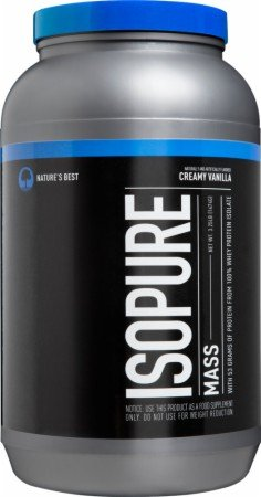 Nature's Best Isopure Mass, Chocolate 7 lb (Pack of 2) by Nature's Best