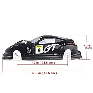 Coolplay 1/10 PVC On Road Drift Car Body Shell RC Racing Accessories AX10