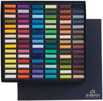 (Rembrandt Royal Talens Soft Pastels General Set, 90 Half Stick Set )