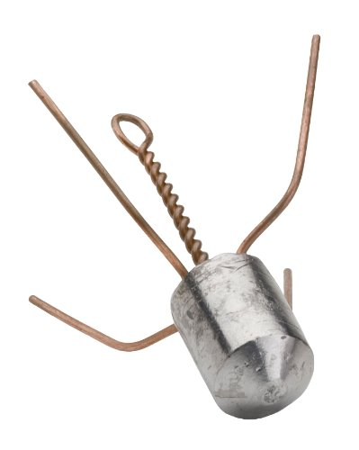 Bullet Weights Spider Fishing Sinker Weight, 3-Ounce