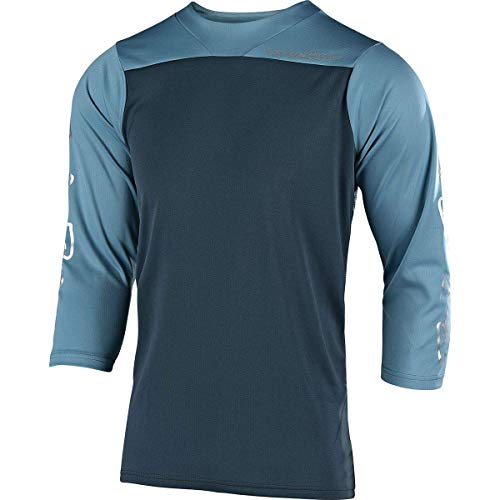 Troy Lee Designs Ruckus Jersey - Men's Block Charcoal/Stone Blue, XL