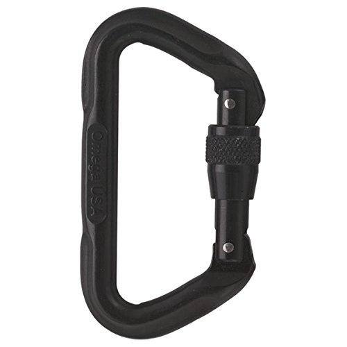 Tactical D Screw Gate Carabiner