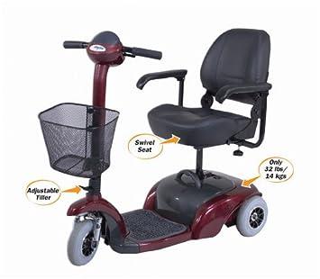 Amazon.com: Cosco 58400 CRS1 – Patinete de 3 ruedas (en rojo ...