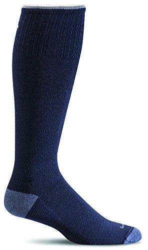 Sockwell Men's Elevation Graduated Compression Socks, Navy, Large/X-Large