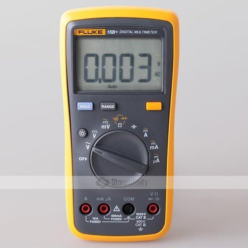 FLUKE 15B+ F15B+ Auto Range Digital Probe Multimeter (Auto Range)