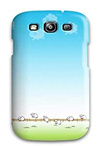 Hot 7580829K68623327 New Premium Flip Case Cover Doraemon Skin Case For Galaxy S3