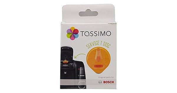 Amazon.com: Bosch 00576837 Tassimo Disco de limpieza por ...