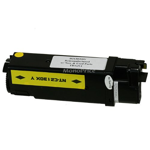 MPI Compatible Laser Toner Cartridge for DELL 2135CN MFP,2130CN (YELLOW)