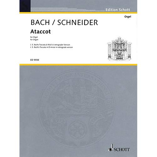 Retrograde Series - Ataccot (J.S. Bach's Toccatoa in D Minor in Retrograde Version) Misc Series Pack of 2
