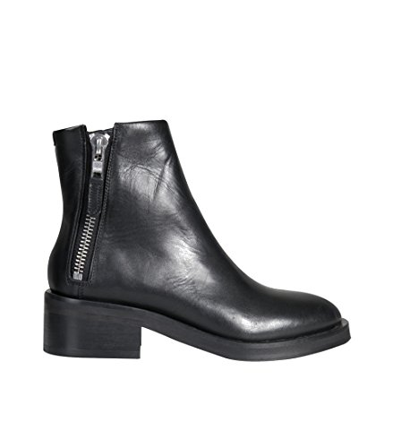 District Royal RepubliQ in Damen Boot Zip Schuhe Schwarz q1fw1rtx
