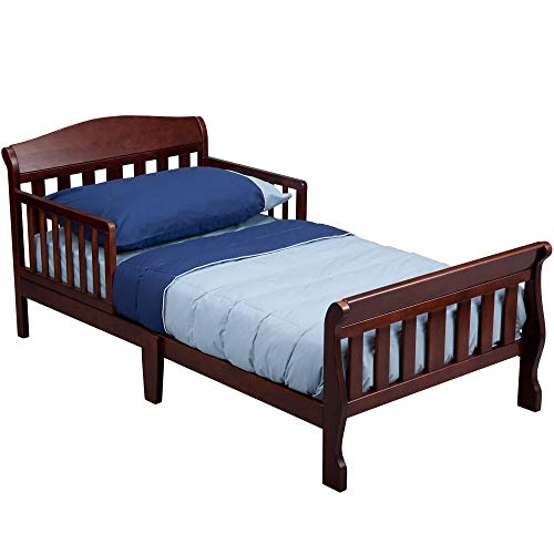 Cherry Toddler Beds - Delta Children Canton Toddler Bed, Cherry