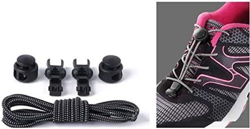 XingYue Direct Cordones elásticos, elásticos, sin ataduras, para ...