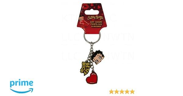 Plasticolor 004296R01 Key Chain Charm-Betty Boop