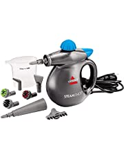 Bissell 2994B Steam Shot Handheld Hard Surface steam Cleaner with Easy to Press Trigger; 100% Chemical Free Clean