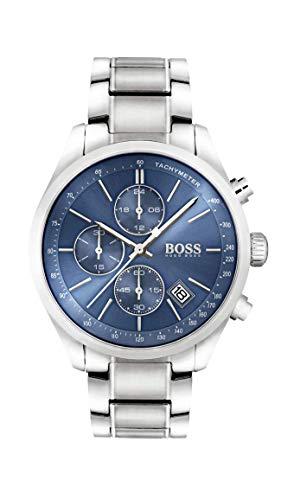 Boss Herren-Uhren Analog Quarz Edelstahl 32002665
