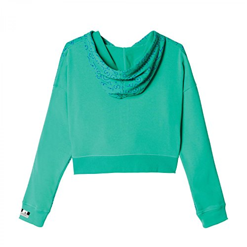 adidas Stella Sport–Sudadera Printed FZ Hoody Bold Blue/Bright Green