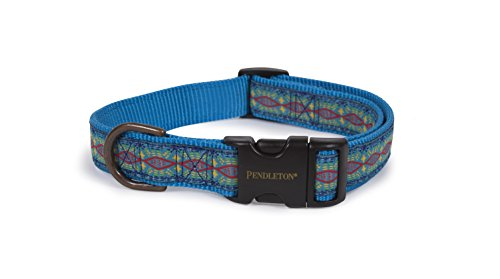 Pendleton Pet Classics Collar (S, Diamond River Turquoise) (Blanket Wool Antique)