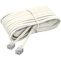 Softalk 04020 Telephone Extension Cord Plug/Plug 25 ft. Ivory