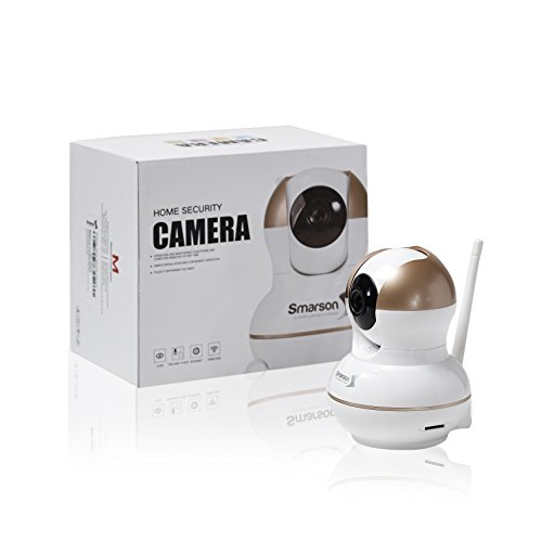 Smarson HD WIFI Home Security Camera, Baby Monitor, App Controlled, Up to 5 Viewers